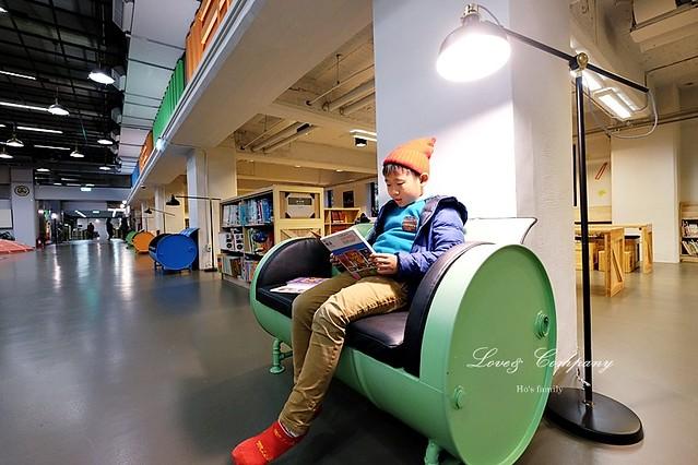 【台北親子免費景點】新北市立圖書館江子翠分館兒童室19