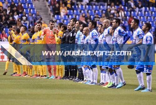 DSC_0302 TC2018 / J01 LIGA | Club Puebla vs Tigres de la UANL | Estadio Cuauhtémoc | Fotografías Mara González / Lyz Vega / Saúl Sánchez / Manuel Vela para Mv Fotografía Profesional / Edición y retoque www.pueblaexpres.com
