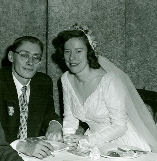 Dad and Mom, 1951