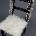Marie EvB Gibbons; So Many Perches and Nowhere to Sit; Item 111 - in SITu: Art Chair Auction