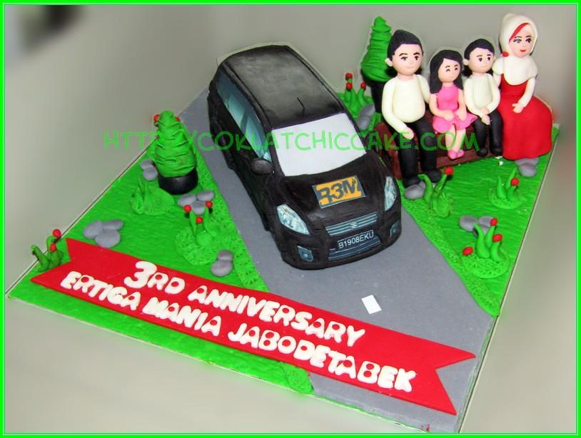 Cake Mobil Ertiga REM