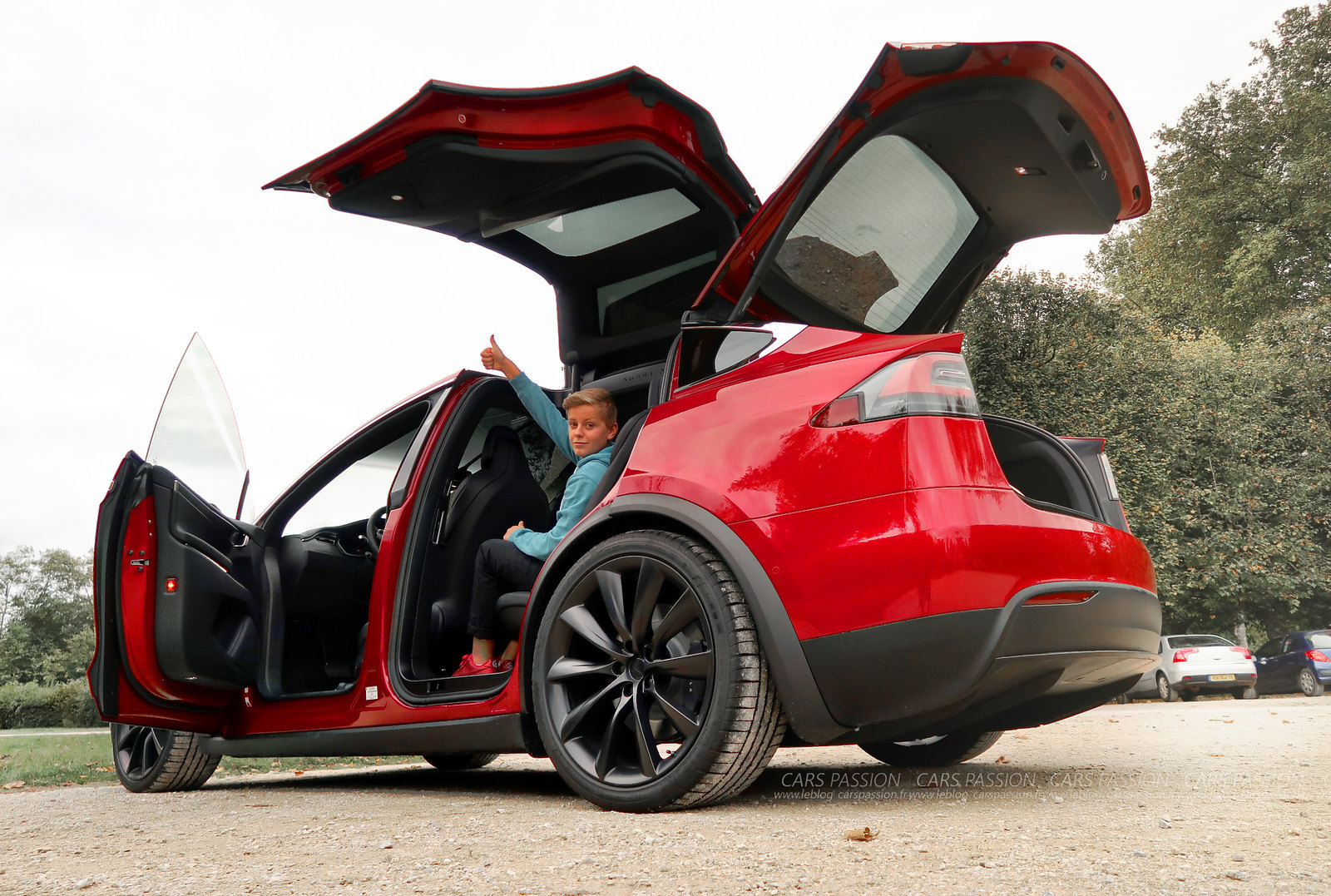 Essai Tesla Model X Cars Passion