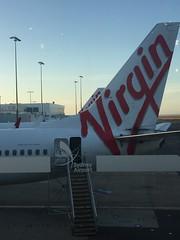 Virgin Australia 737 at Sydney Airport #sydneyairport #virginaustralia