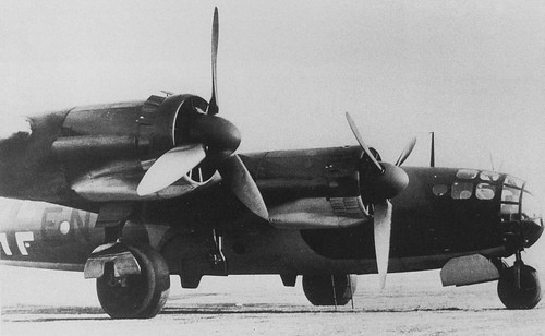 Messerschmitt Me 264 the America bomber, 1942.