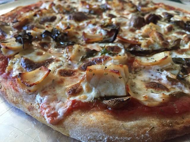 Mushroom / Turkey Pizza
