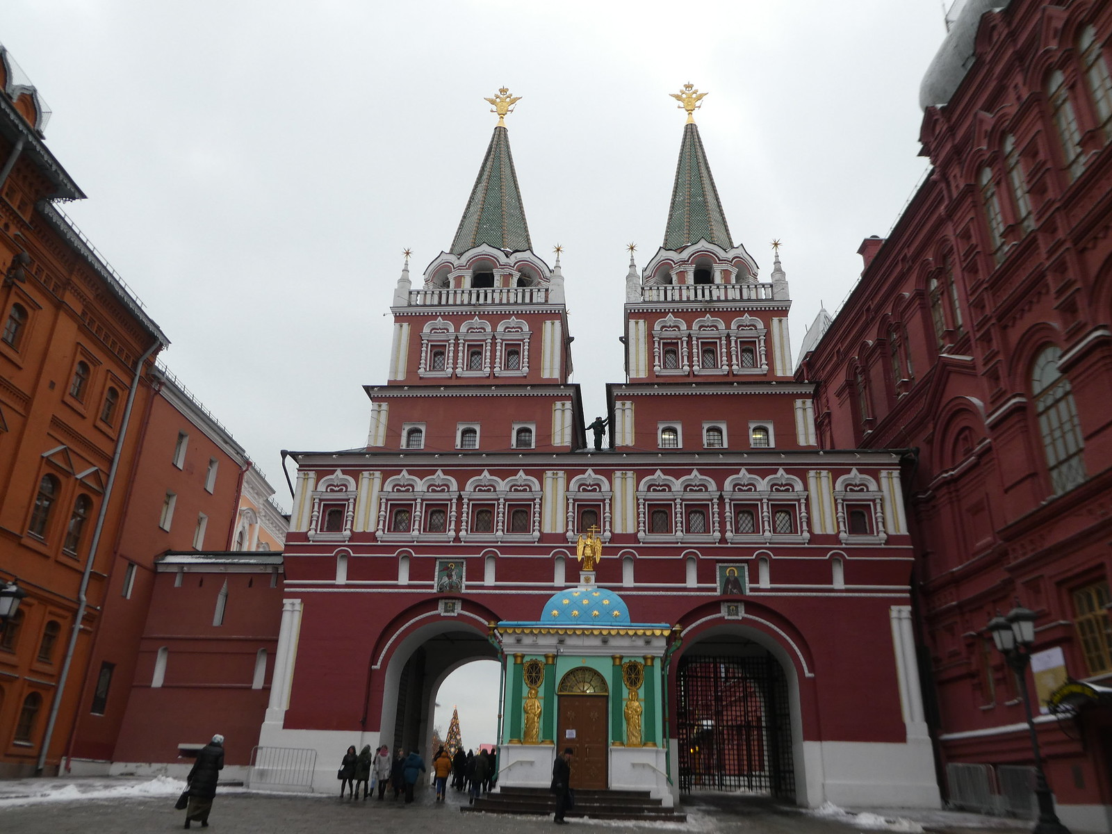 Resurrection Gate, Red Square, Moscow