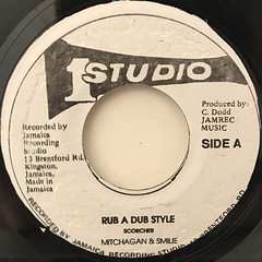 MITCHAGAN & SMILIE:RUB A DUB STYLE(LABEL SIDE-A)