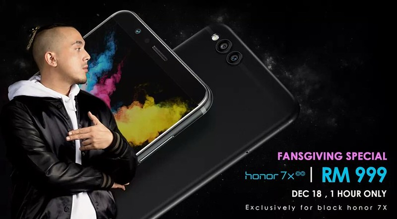 Honor 7X Flash Sale