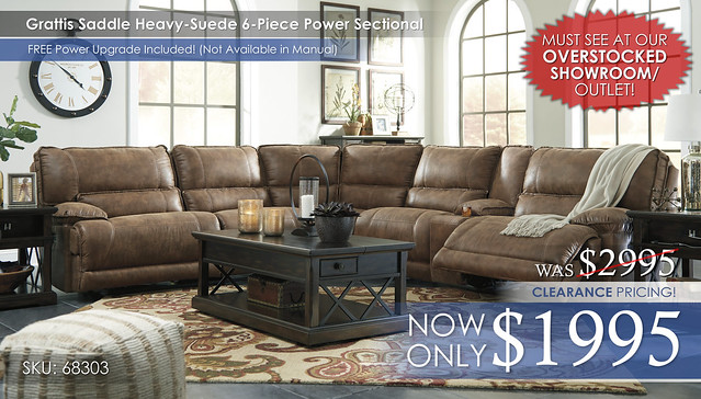 Grattis Sectional 6PC 68303_ClearanceShowroomStamp