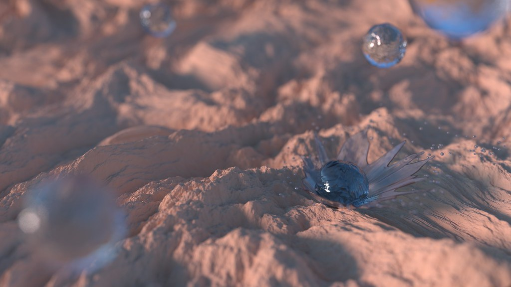 First Rain   Designed and created in Blender  All models, te