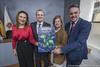 Firma convenio Atres media, RTVC y Carnaval