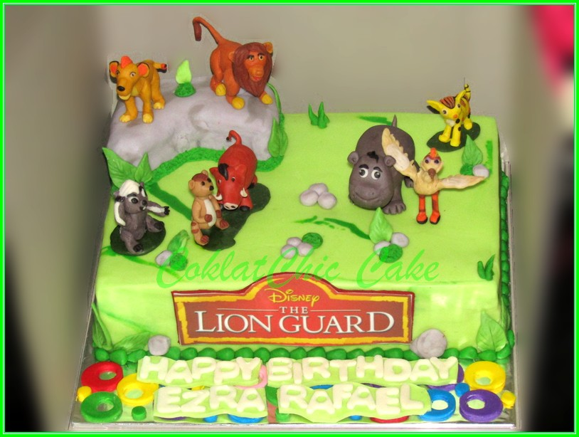 Cake Lion Guard EZRA 22x15 cm