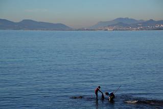 Pêche, face à Hyères