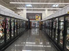 Frozen aisle