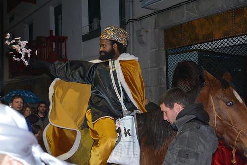 Errege Magoen etorrera Andoainera
