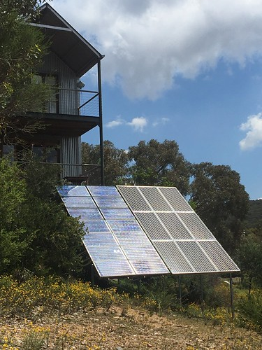 Solar panels for Off-grid house near Orange, NSW