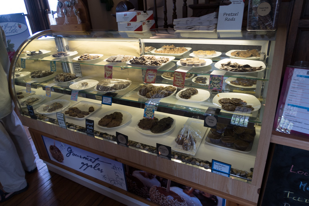 Chocolate store at Ohiopyle State Park