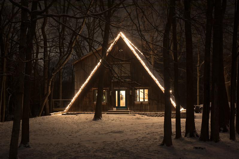 A-Frame in Winter
