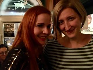 Trish & Jessica.