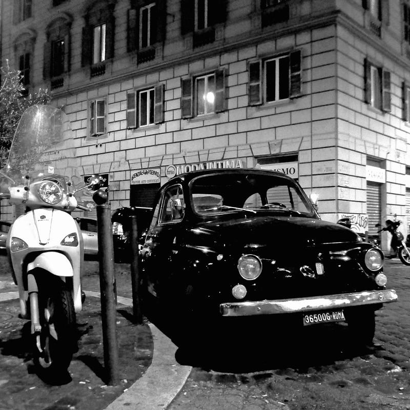 Fiat 500 e Piaggio, Roma