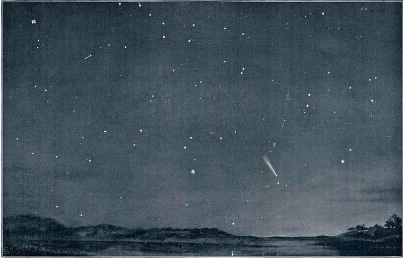 Halley's Comet in 1910