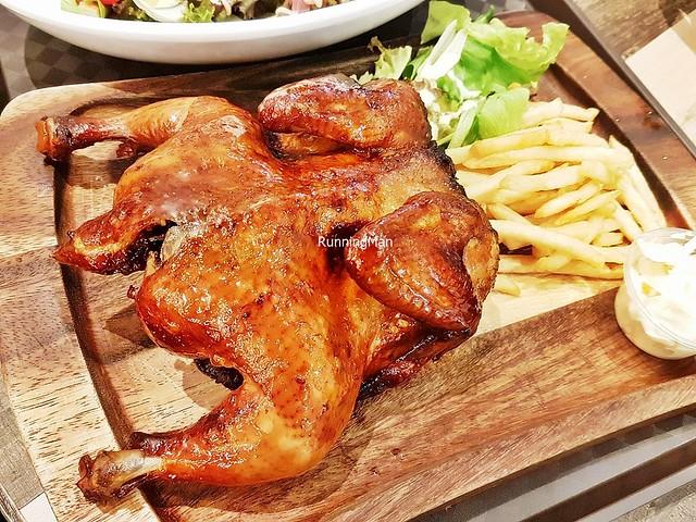 Honey Glazed BBQ Spring Chicken