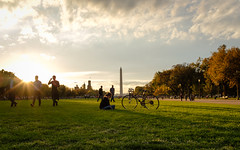 Golden Hour at the National Mall
