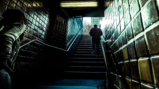 Subway - New York - Color street photography