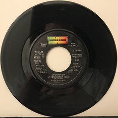WILLIE HUTCH:EVERYBODY NEEDS MONEY(RECORD SIDE-B)