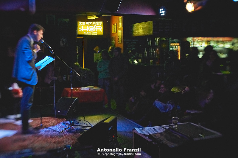 Marko Miladinovic + Poetry Slam @ The Hor
