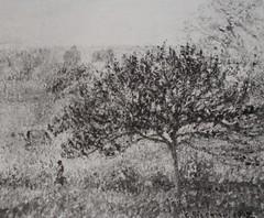 Matinée d'automne à Eragny (C Pissarro - PDRS 1469)