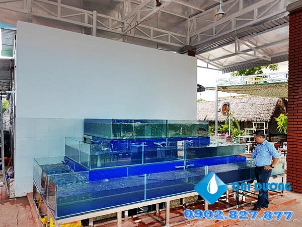 Hồ hải sản nhà hàng Phố Nướng An Giang