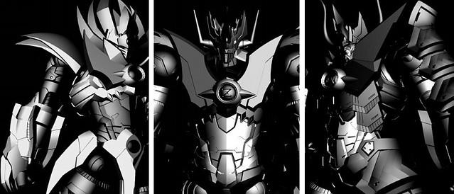 GSCx千值練 全新合作企劃《魔神凱薩(無敵鐵金剛凱撒)》新系列 可動試作品公開!