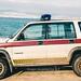 RAF Police Isuzu Trooper EXN399 2