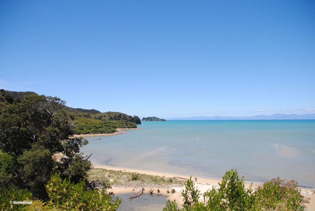 Rantanäkymä, Kaiteriteri, Uusi-Seelanti