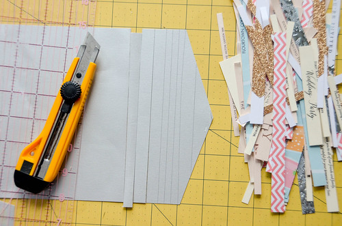 3. You can even cut pretty envelopes, if you cut around the creases & glue