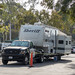 Sheriff Mobile Command Post for the Thomas Fire
