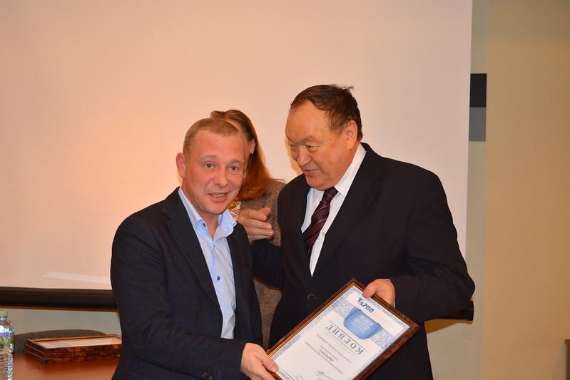 Вручение диплома «Лидер продаж» 2017 ИД Sanoma Independent Media