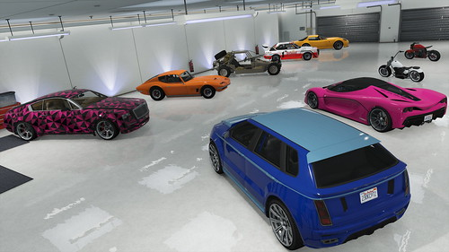 gta maze bank tower garage