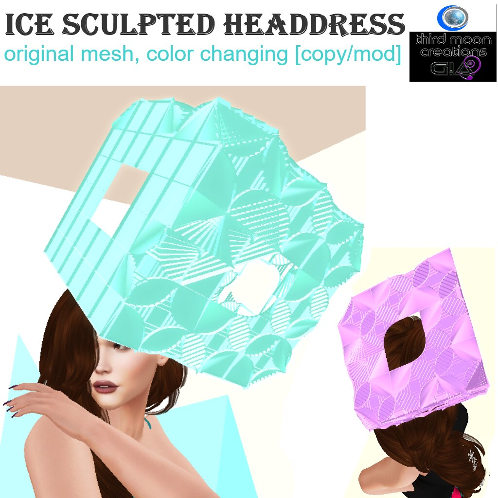 Ice Sculpted Headdress Vendor