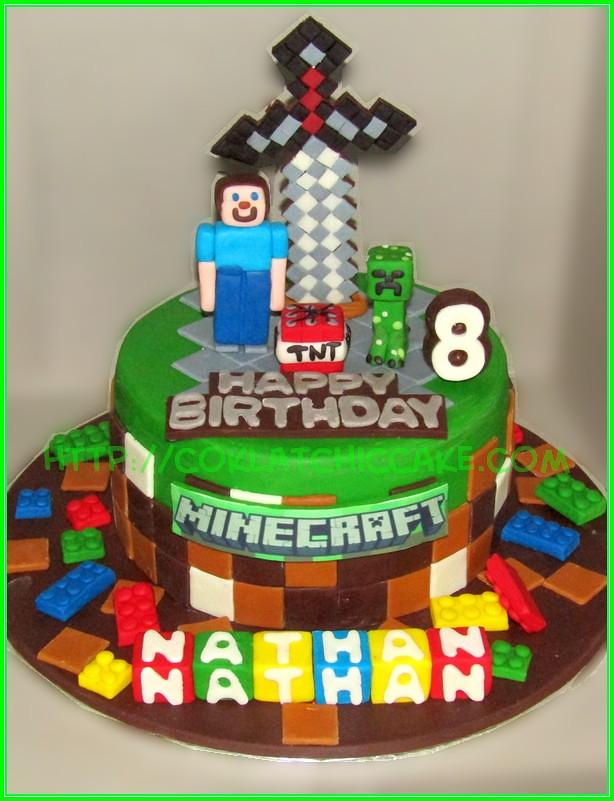 cake minecraft NATHAN