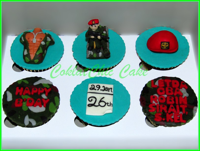 Cupcake Set ARMY