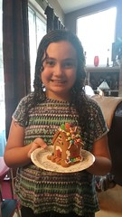Jessica's gingerbread house