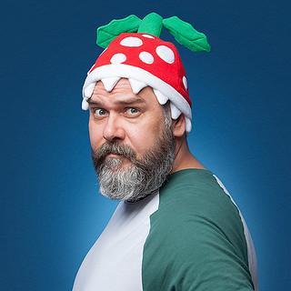 戴起來絕對安全?! Thinkgeek《超級瑪利歐兄弟》食人花毛帽 Super Mario Piranha Plant Beanie 拜託不要咬爛我的頭~