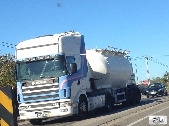 (Ex Expresso Do Ourem) Scania 124L 420 Topline Cistern - Portugal