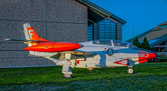 Rockwell T-2C--DSC07425--McMinnville OR