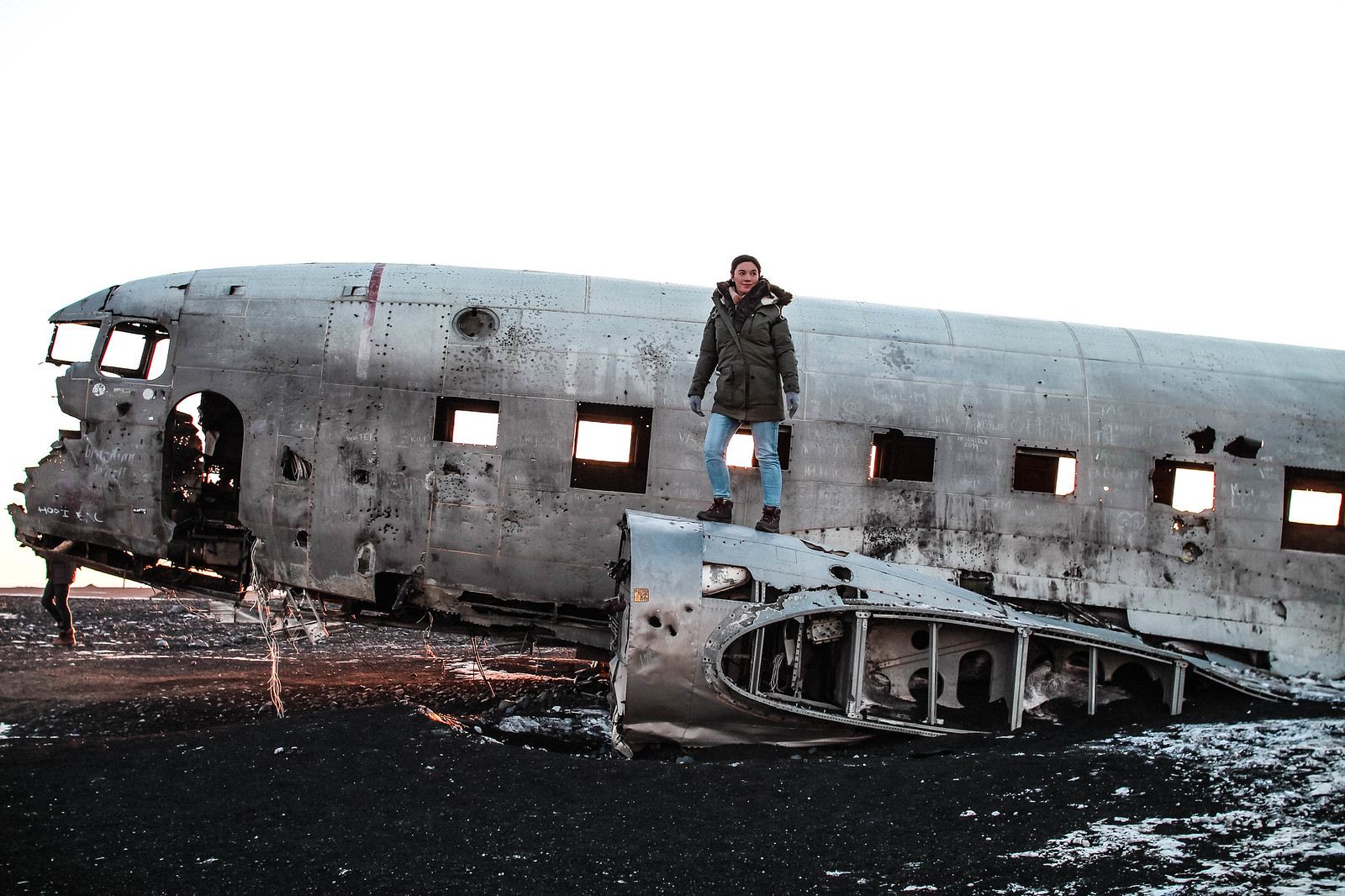 Sólheimasandur Plane Wreck Iceland travel blogger UK The Little Things