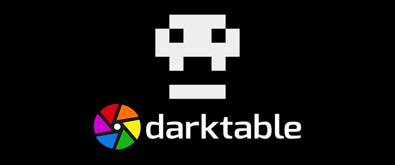 darktable_skull+logo