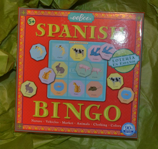 eeBoo Spanish Bingo on The SIMPLE Moms