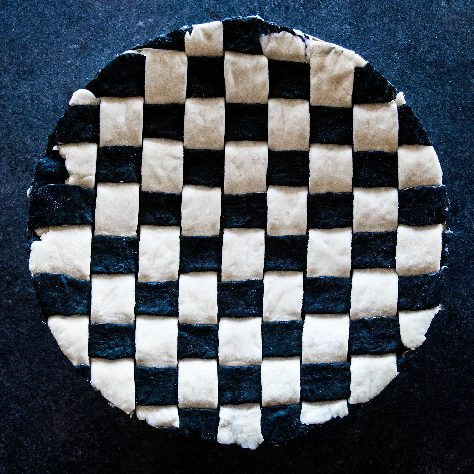chocolate check mocha pie